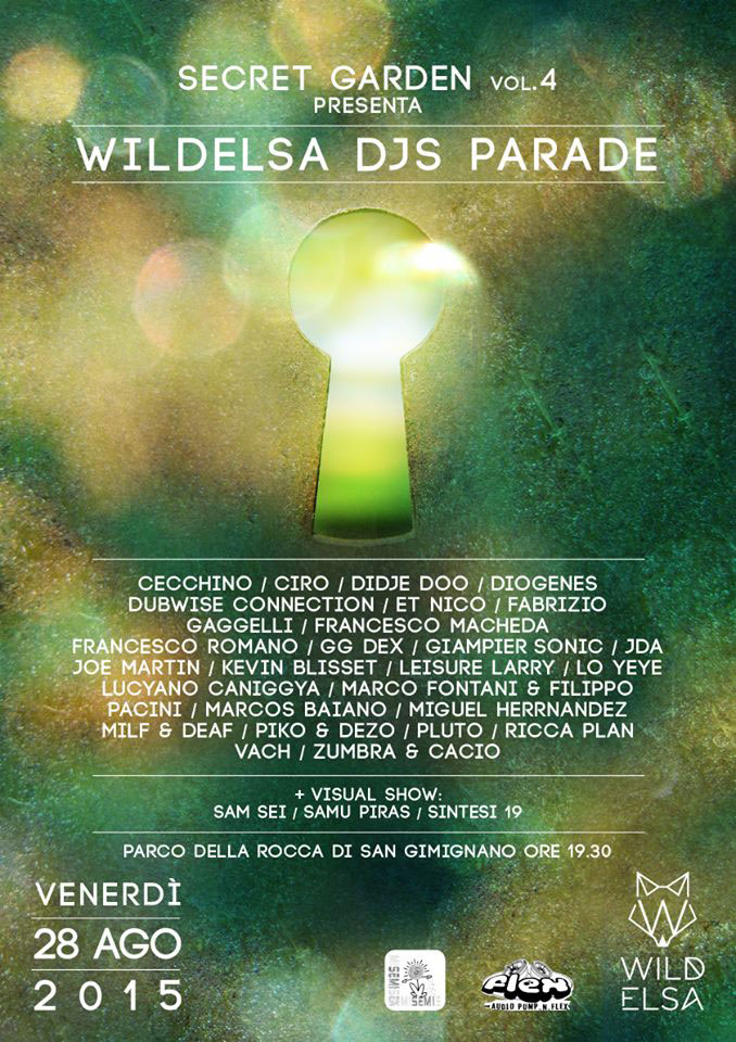 WILDELSA DJS PARADE
