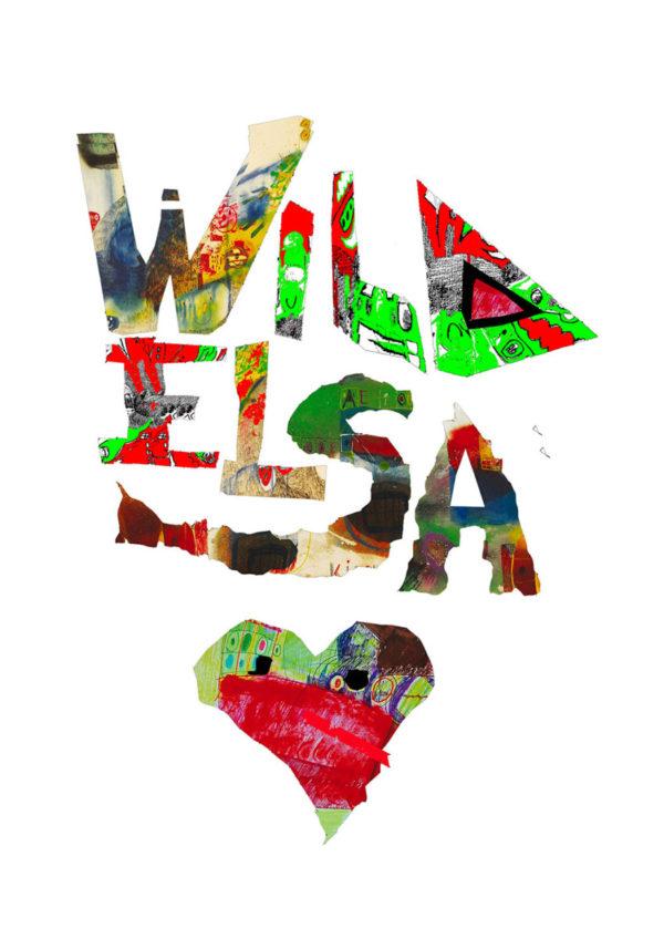Federico Santini grafica t-shirt Wildelsa